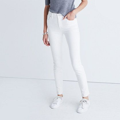 15 White Jeans To Officially Welcome Prime White Jeans Season #refinery29