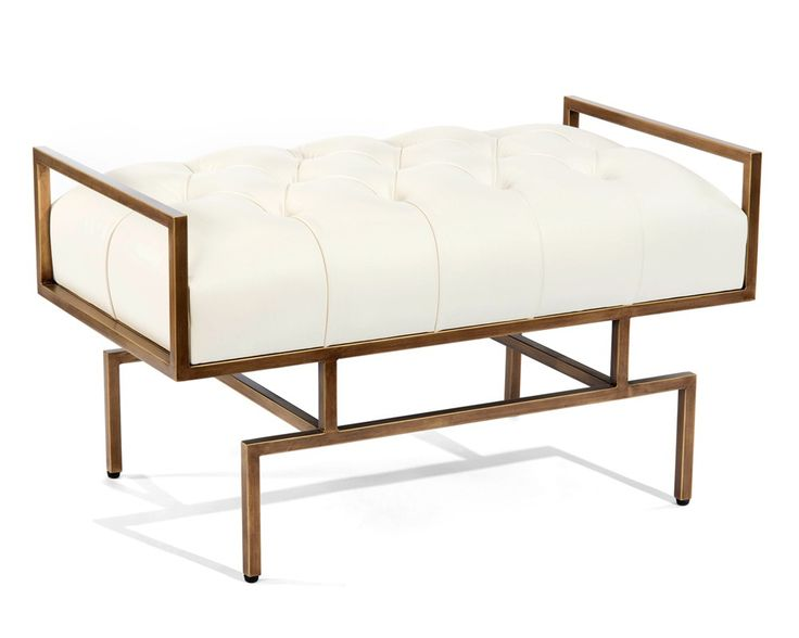 Wiggins Bench - Upholstered Exposed Wood - New Introductions - Our Products