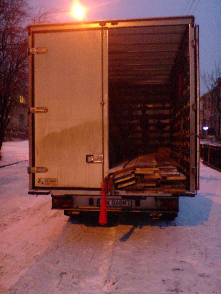 Transport deseczek z firmą Sidoreczek - www.sidor.com.pl