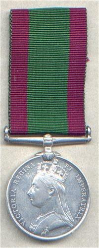 Medal Afghanistan no bar 1878-80  32/B 415 Pte W Brooks 1/12th Regt (East suffolk)
