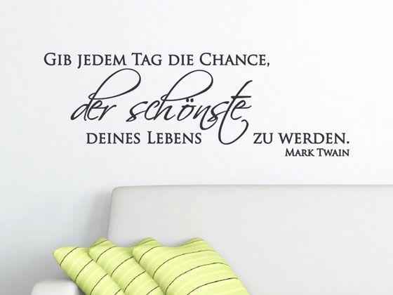 52 besten Sprüche für die Wand Bilder auf Pinterest Sprüche für - wandtattoos für wohnzimmer