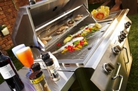Be the Braai Master Wherever and Whenever with The Syam Mobile Gas Braai