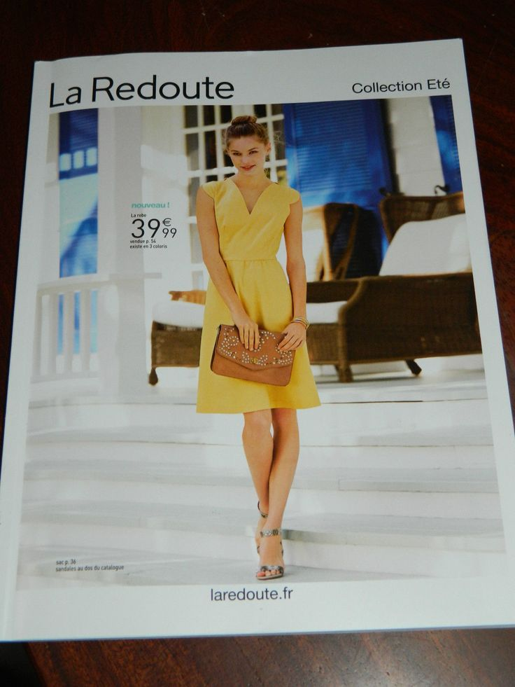 1000 catalogue de la redoute pinterest la redoute catalogue - Catalogue la redoute printemps ete 2015 ...