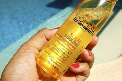 Time to protect your hair from those harmful rays.. Review on my blog about the L'Oreal Solar Sublime protective spray  #L'Oreal #SolarSublime #HairCare #Review #Blog #Blogspot #Beauty #Hair
