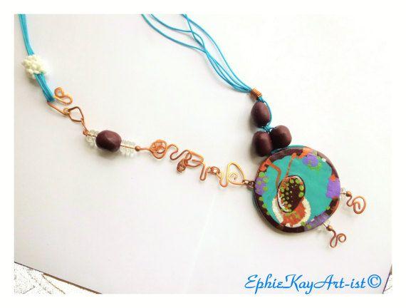 Easter Boho Gift Idea For Women Ethnic Long by EphieKayArtist
