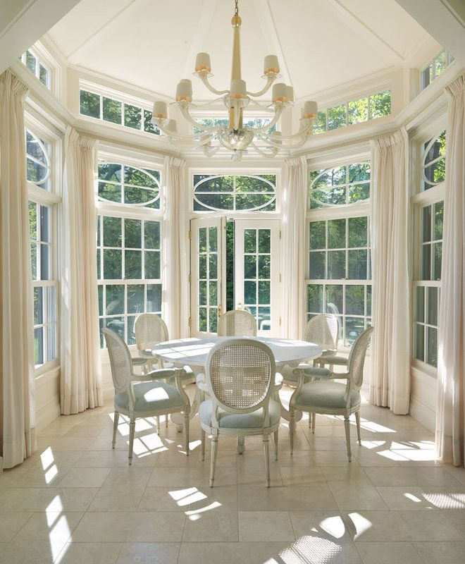 1277 best images about dream home on pinterest for Sunroom dining room ideas