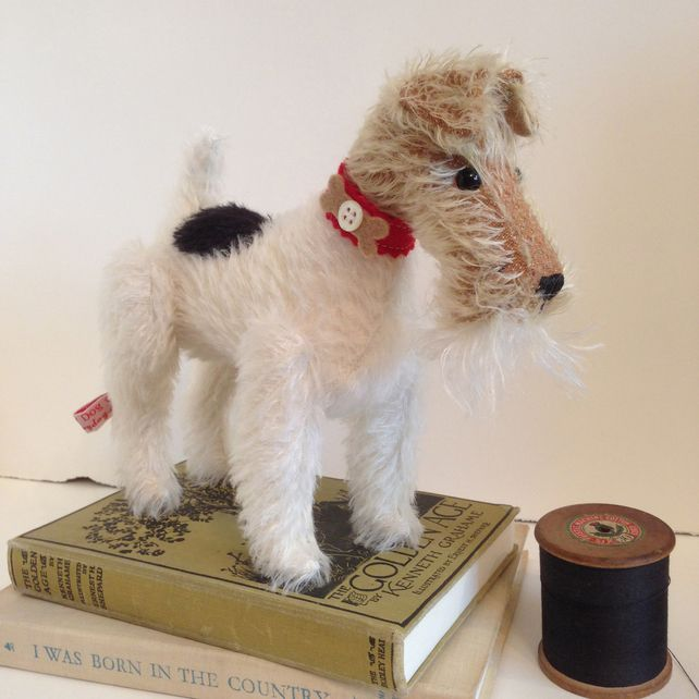 Wire Haired Fox Terrier Little Toy Dog £99.00
