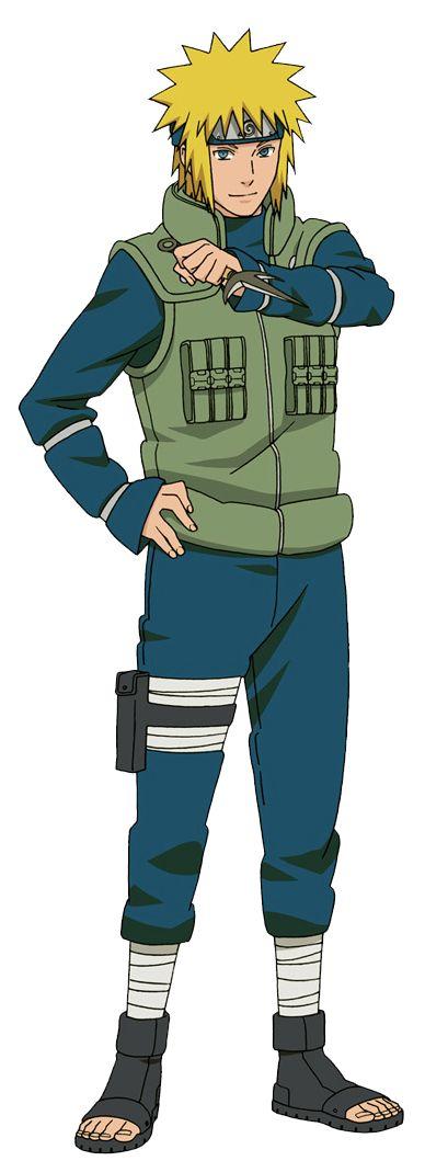 Minato Namikaze (Yondaime Hokage) by lBackFromTheDeadl.deviantart.com on @DeviantArt