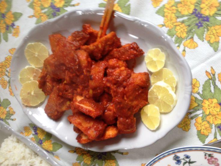citromos csirkemell wokban