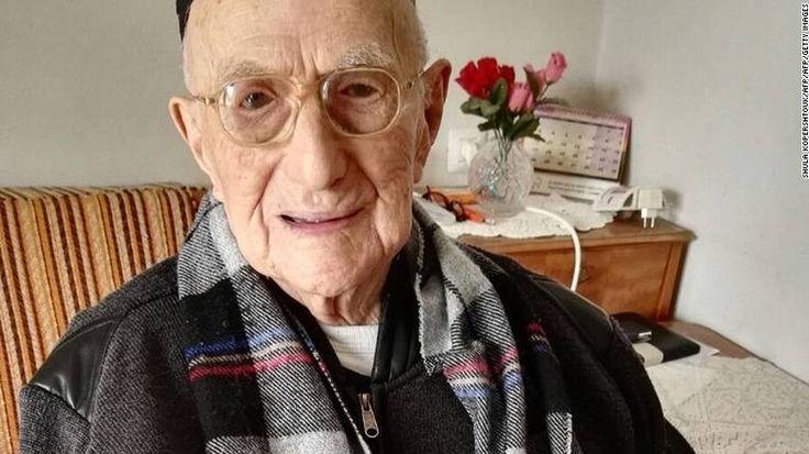 Ο γηραιότερος άνθρωπος στον κόσμο...είναι επιζών του Άουσβιτς | Ειδήσεις, νέα…