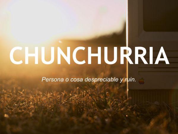 chunchurria_otras20palabras