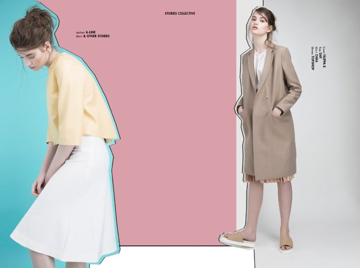 Stories Collective / Pastel Hues / Photography Christine Kreiselmaier / Styling…