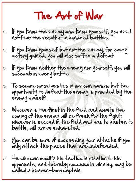 best art of war quotes ideas sun tzu war  sun tzu the art of war