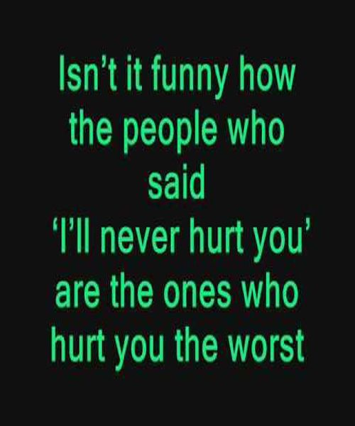 Hurt You The Worst - Sad Love Quote Funny, The ojays and It is