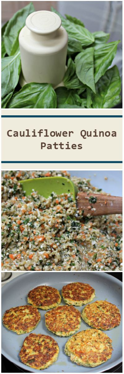 Cauliflower Quinoa Patties | this Fox Kitchen