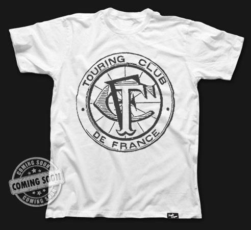 TOURING CLUB DE FRANCE  #tshirt #tshirtdesign #fashion #triplocinque