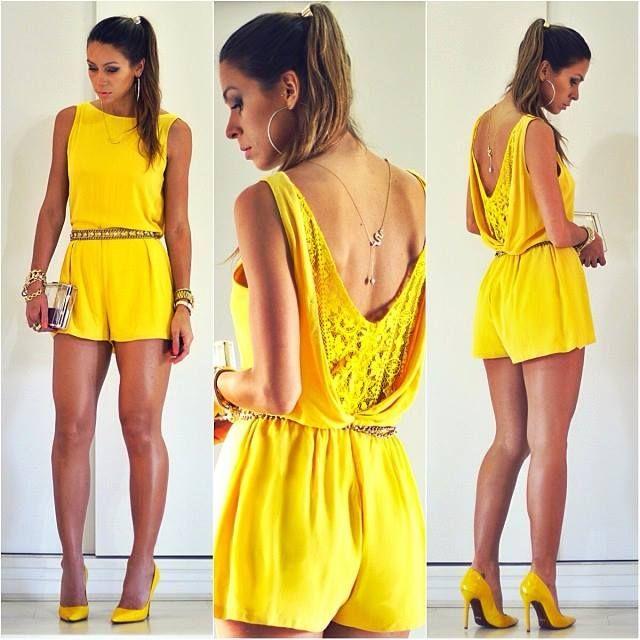 looks amarelo moda 2014 1