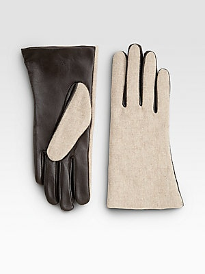The chicest touchscreen gloves.