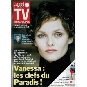 TV Magazine Ouest-France (n°16535) du 26/03/1999 - Vanessa Paradis - ... [Magazine mis en vente par Presse-Mémoire]