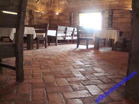 Stara cegła, podłoga, kamień, płytki, kafel
