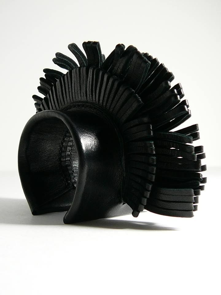 FABIEN IFIRES (Paris) leather cuff