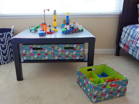 How To Make Your Own Lego Table Lego Frenzy Pinterest Lego