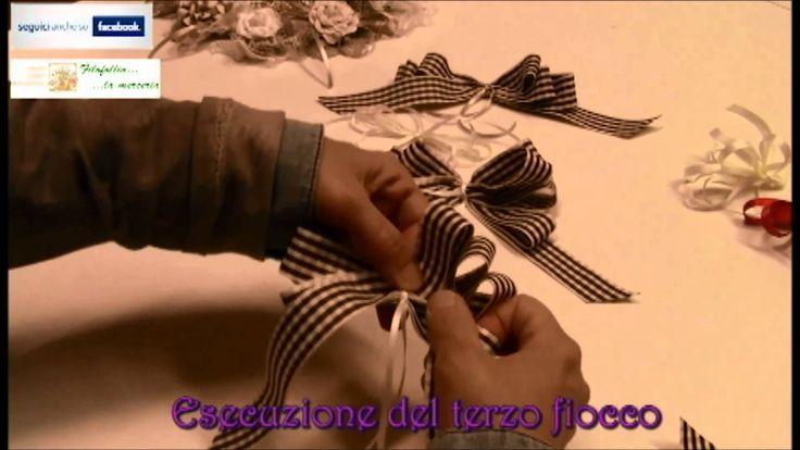 FILOFOLLIA LA MERCERIA - Realizzazione di fiocchi decorativi [Produzione...