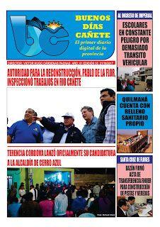 buenosdiascanete.blogspot.com: Diario digital BUENOS DIAS CAÑETE, edición 21/10/1...