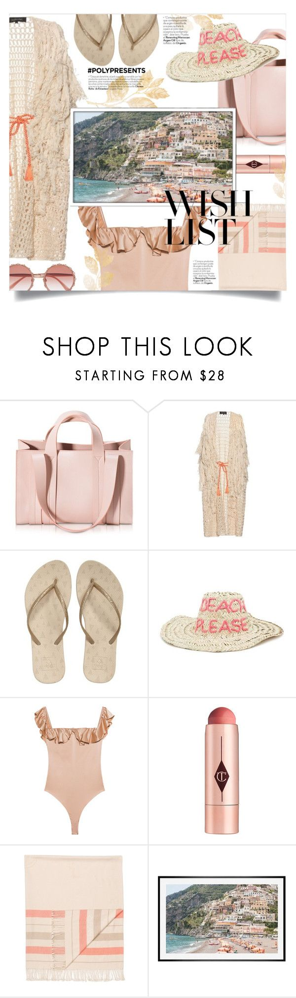 """#PolyPresents: Wish List"" by devaanggraenii ❤ liked on Polyvore featuring Corto Moltedo, Tabula Rasa, Reef, Forever 21, For Love & Lemons, Charlotte Tilbury, Hermès, Pottery Barn, Dolce&Gabbana and contestentry"