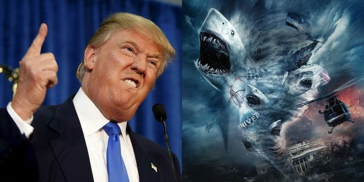 Donald Trump Almost Cameoed as Sharknado 3 President
