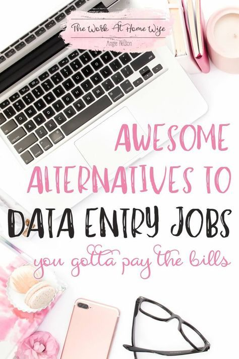 Are you looking for online data entry jobs? I hate to break it to you, but typing work may not be the way to go if you want to make enough money from home to pay the bills. But, you have some great alternatives!
