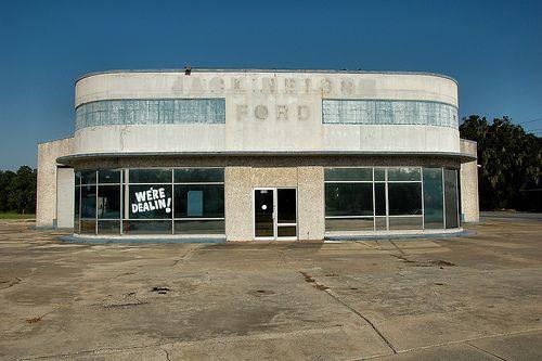 Abandon Jack Nelson Ford Dealership In Darien Georgia
