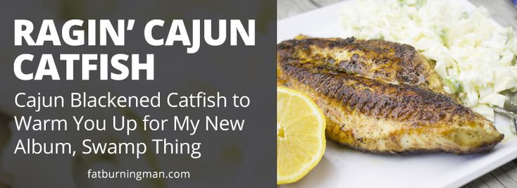 Ragin' Cajun Blackened Catfish (Wild Diet, Paleo-Friendly)