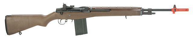 WE-Tech M14 Sniper Full Metal Airsoft Gas Blowback Sniper Rifle Metal/Imitation Wood - Hero Outdoors