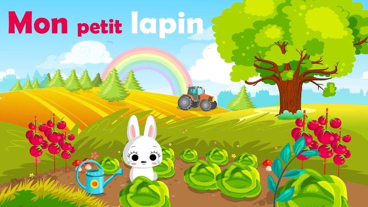Les 25 meilleures id es concernant comptines avec gestes - Mon petit lapin s est cache dans le jardin paroles ...