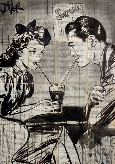 "Saatchi Art Artist LOUI JOVER; Drawing, ""soda pop"" #art"