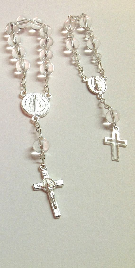50 pcs First communion favors Recuerditos Bautizo / Mini Rosary Baptism Favors 50 pcs