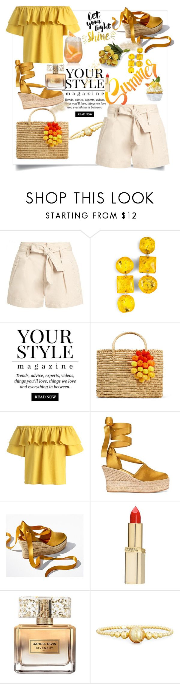 """""""Summer Simmer Time  🍸🍹🍦🏝🏖🌞🌞💕💕"""" by kercey ❤ liked on Polyvore featuring Étoile Isabel Marant, Pussycat, Nannacay, Chicwish, Tory Burch, L'Oréal Paris, Givenchy, Rivière and Crate and Barrel"""