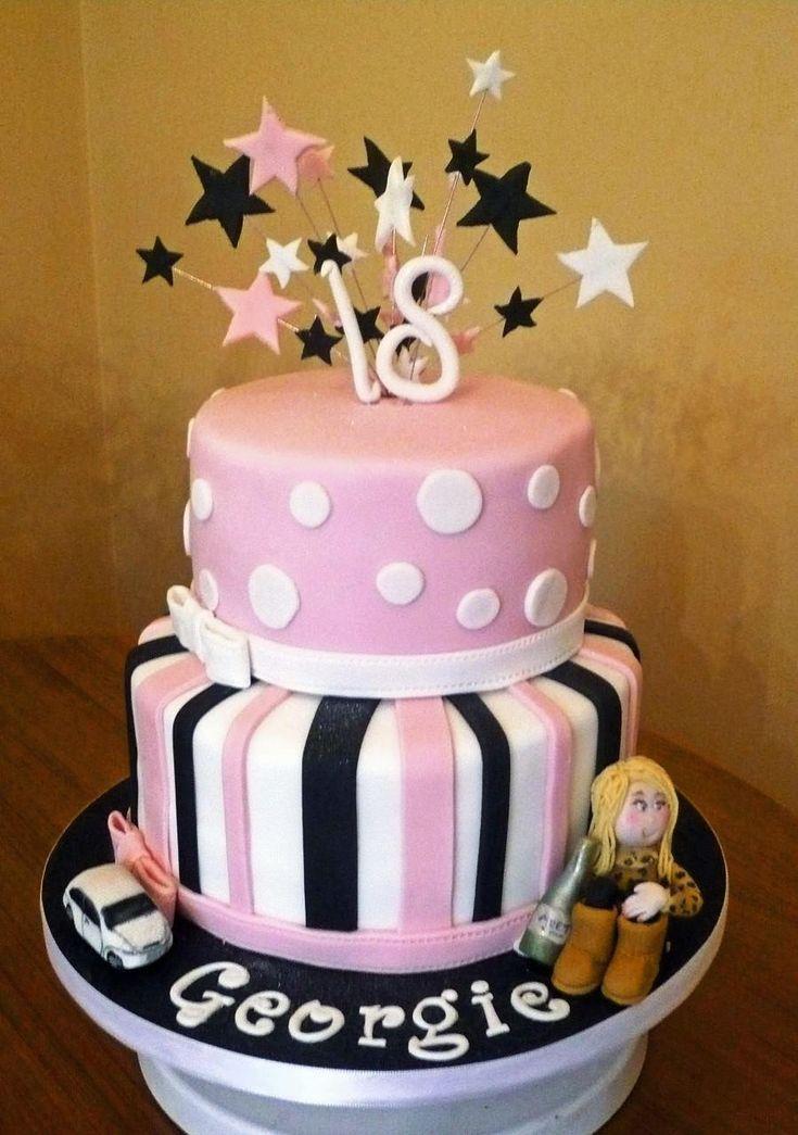 18 Cake Topper