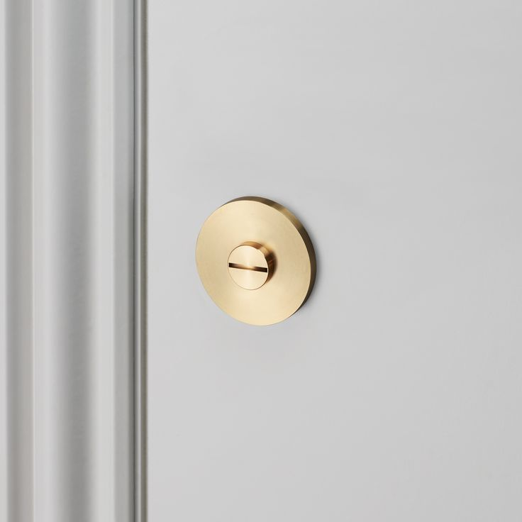 THUMBTURN LOCK / BRASS by Buster + Punch.