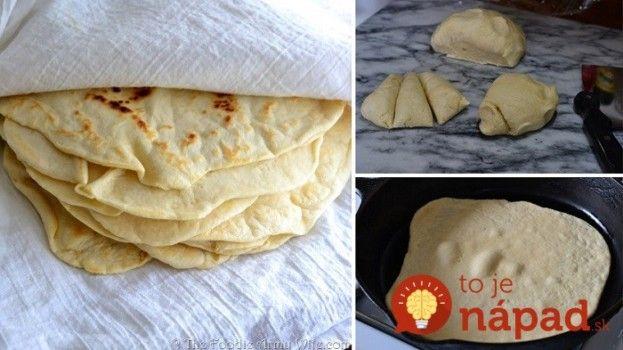 Zabudnite na tortilly z obchodu: Tieto domáce tortilly zo 4 prísady nemajú konkurenciu!