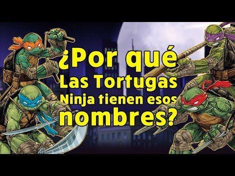 ¿Por qué Las Tortugas Ninja tienen esos nombres? Descúbrelo aquí. #tmnt #tortugasninja #ninjaturtles