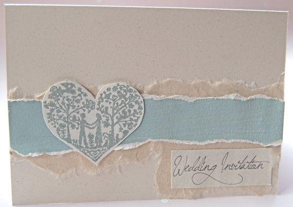 Vintage Handmade Wedding Invitations: 17 Best Images About DUCK EGG BLUE Wedding On Pinterest