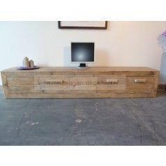 Natural beits mat - Gelakt - Gebruikt steigerhout