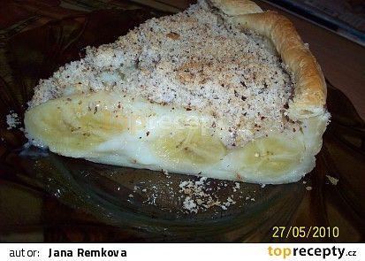 Banánovo-pudinková bomba recept - TopRecepty.cz