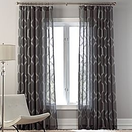 Curtains for living room to match accent wall