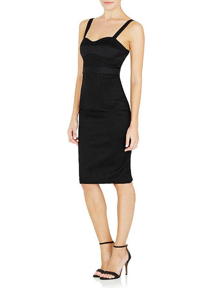 Watson X Watson - Cotton Pique Babe Dress - Black Or White