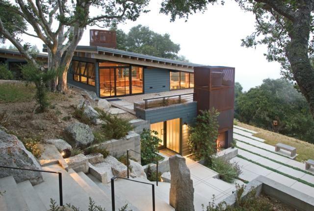 House Ocho, Santa Lucia Preserve, California, Feldman Architecture | Remodelista Architect / Designer Directory