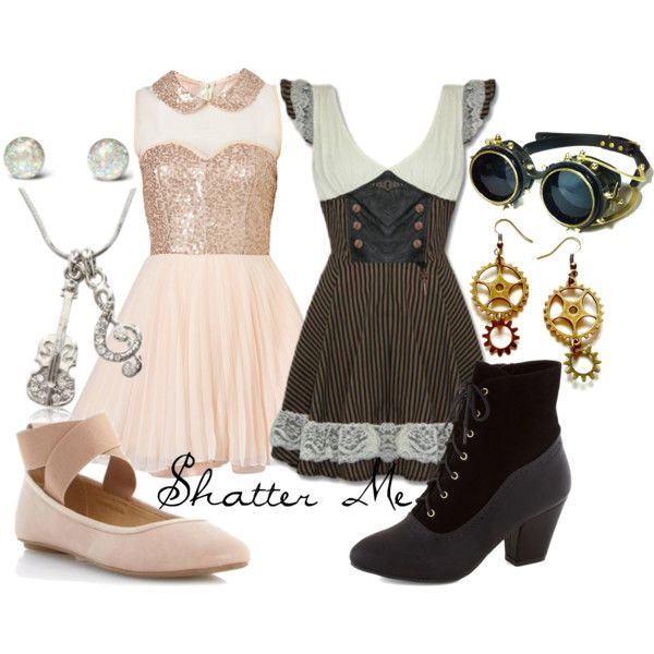 """""""Shatter Me ~ Lindsey Stirling & Lzzy Hale"""" by liesle on Polyvore"""