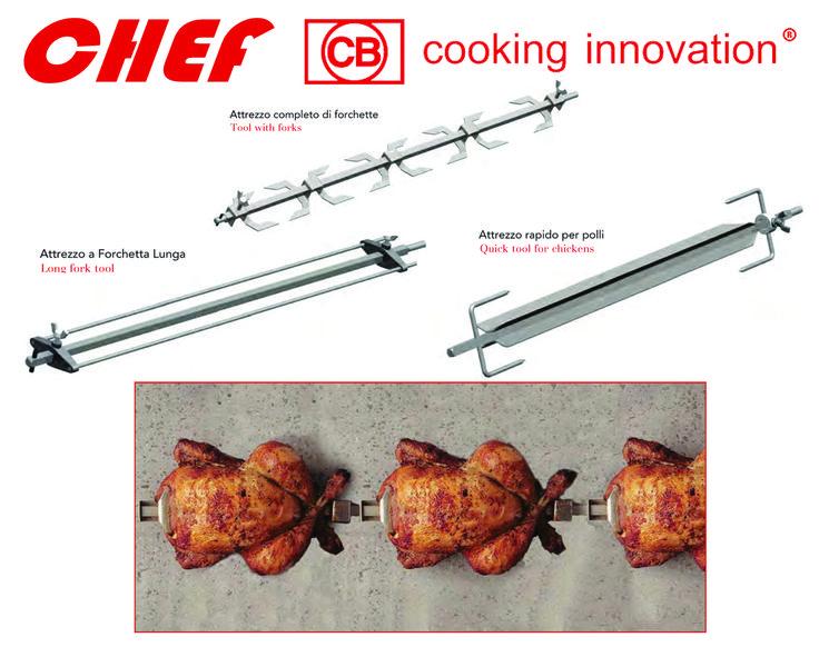 Attrezzi per polli CHEF. #CBcookinginnovation